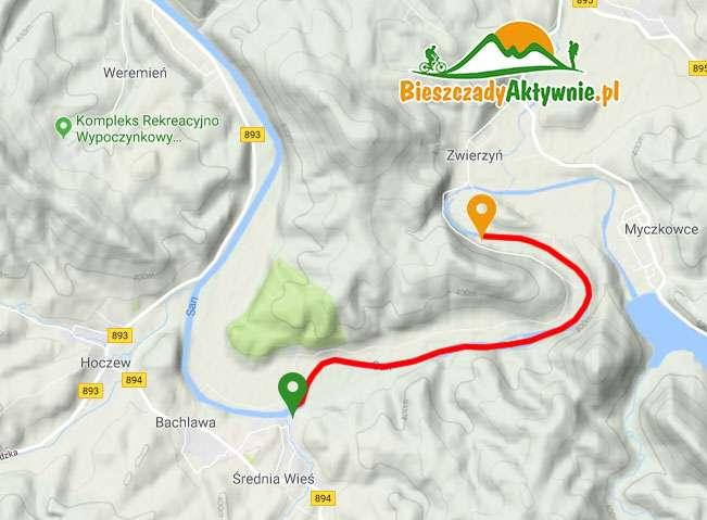 Trasa Spływu Zwierzyń - Średnia Wieś